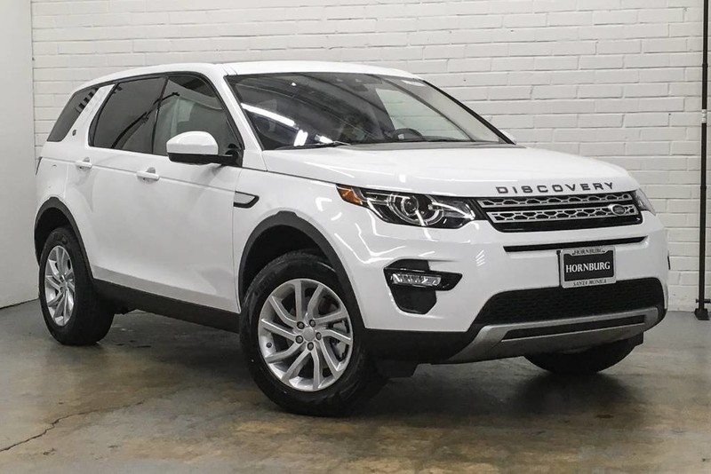 Special Lease Offers >> New 2018 Land Rover Discovery Sport HSE SUV in Santa Monica #108071 | Hornburg Land Rover Santa ...
