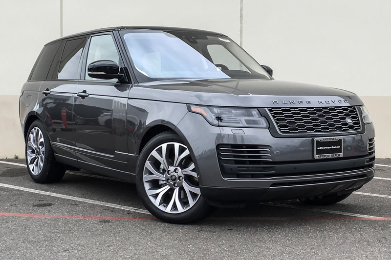 New 2019 Land Rover Range Rover HSE