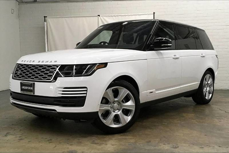 New 2020 Land Rover Range Rover V8 Supercharged LWB