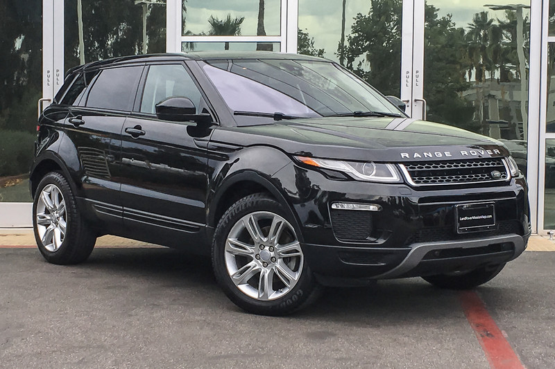 Certified Pre Owned 2016 Land Rover Range Rover Evoque Se Suv In