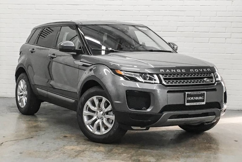 new 2018 land rover range rover evoque se suv in santa monica 107895 hornburg land rover. Black Bedroom Furniture Sets. Home Design Ideas