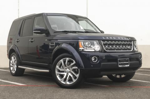 Certified Pre-Owned 2016 Land Rover LR4 HSE Silver Edition